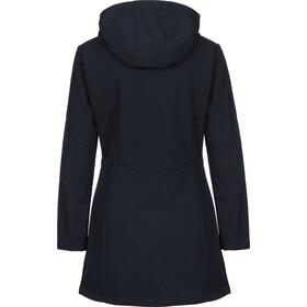 CMP Campagnolo Abrigo Softshell Mujer, black blue/corallo